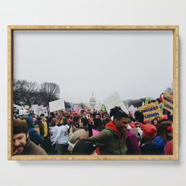 Women's March on Washington Serving Tray