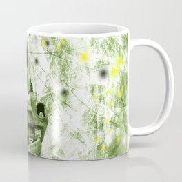 Dream wreck in grunge green kaleidoscope Coffee Mug