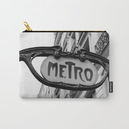 Paris Metro IV Carry-All Pouch