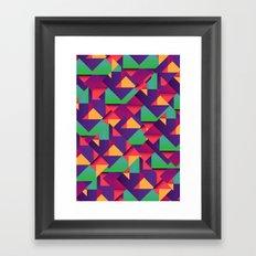 On the Floor Framed Art Print