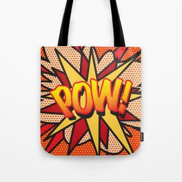 Comic Book POW! Tote Bag