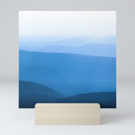 Blue Smoky Mountains Mini Art Print