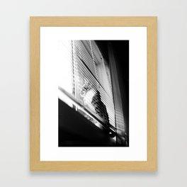 Garamond Framed Art Print
