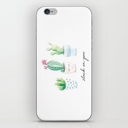 Stuck on You iPhone Skin