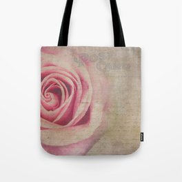 Pink and Rosy Postcard Tote Bag