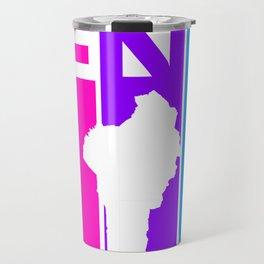 Benin Colorful Bubbles Travel Mug