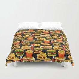 Fast Food Duvet Cover