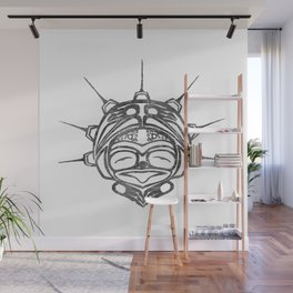 Smoke Frog Spirit Wall Mural