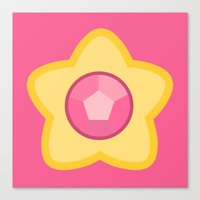 steven universe Canvas Prints featuring Steven Universe by The Barefoot Hatter