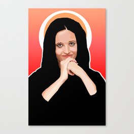 Eva or Madonna? Canvas Print