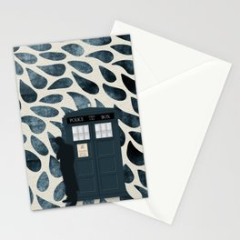 Dr Who and his Timey-Wimey Vehicle Stationery Cards