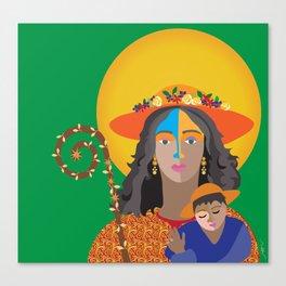 Divina Pastora. Venezuela Canvas Print
