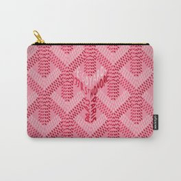 Goyard Pink Carry-All Pouch