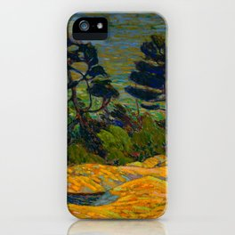 Tom Thomson Byng Inlet Georgian Bay winter 1914-1915 Canadian Landscape Artist iPhone Case