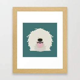 Puli Framed Art Print