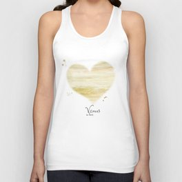 Venus in love Unisex Tank Top