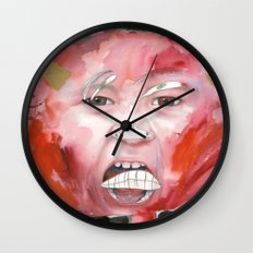 I feel angry Wall Clock