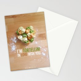 I'm Tortellini in Love with You Stationery Cards