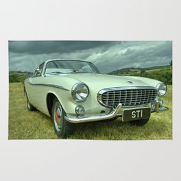 Volvo P1800 Coupe Rug