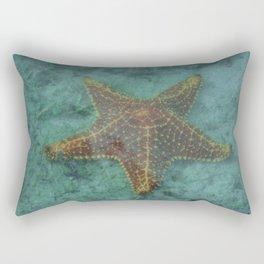 Starfish in the Lagoon Rectangular Pillow