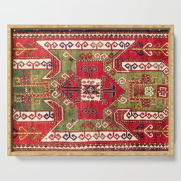 Sevan Kazak Southwest Caucasus Rug Print Serving Tray