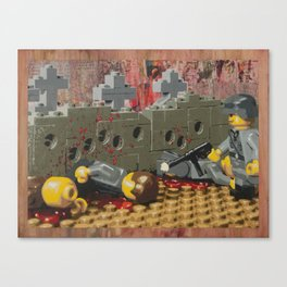 Russian Partisan Execution Canvas Print
