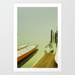 Morro Bay Morning Art Print