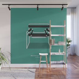 Wassily Chair - Marcel Breuer Wall Mural
