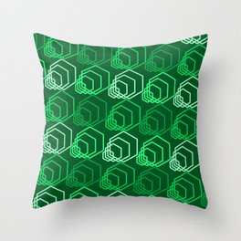 Op Art 116 Throw Pillow