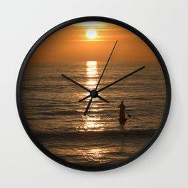 Solitude Wall Clock