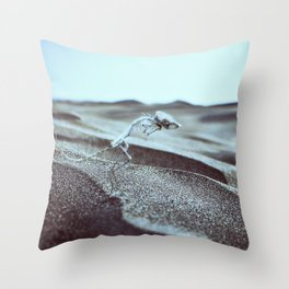 Distance Is Darkness Throw Pillow