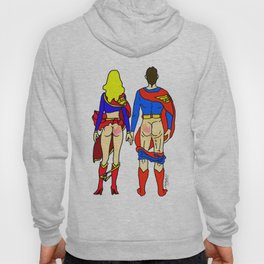 Superhero Butts Love 1 - Super Birds Hoody