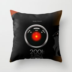 2001 - A space odyssey Throw Pillow