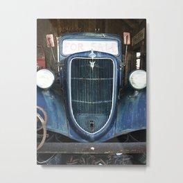 Antique Truck Show Metal Print