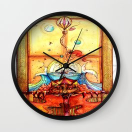 Hope Resides Wall Clock