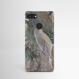 Audubon's Warbler on a Spruce Branch Android Case