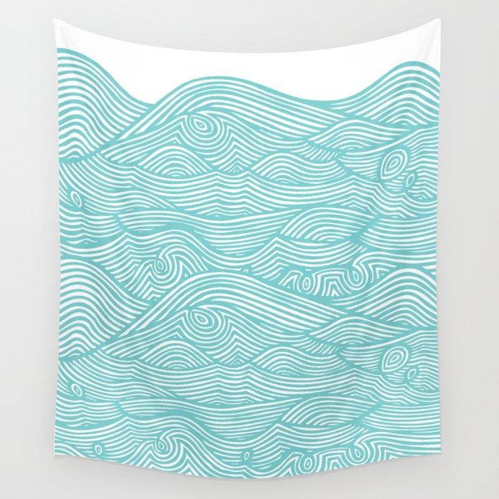 Waves Wandbehang