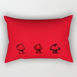./bad influences. Rectangular Pillow
