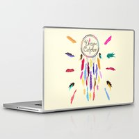 dreamcatcher Laptop & iPad Skins featuring Dreamcatcher by O. Be