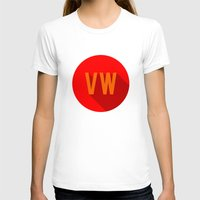 vw bus T-shirts featuring VW by Barbo's Art
