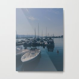 French Boats Metal Print