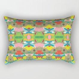 Collide 3 Rectangular Pillow