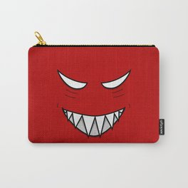 Evil Grin Evil Eyes Carry-All Pouch