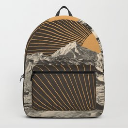 Mountainscape 6 - Night Sun Backpack