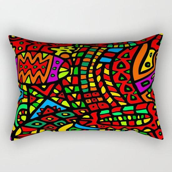 Abstract #411 Rectangular Pillow