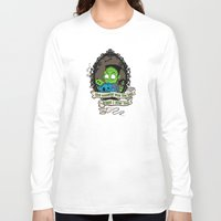 frank Long Sleeve T-shirts featuring Frank by the inked skull