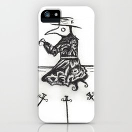 Plague, Three of Swords iPhone Case