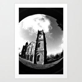 Religion is Dark Art Print