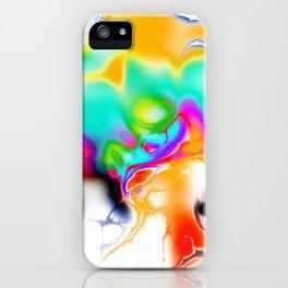 Vivid bright fractal 1 iPhone Case