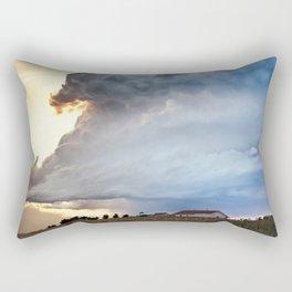 Shadow of Uncertainty Rectangular Pillow